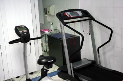 rower i bieżnia do EKG